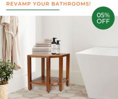Teak Shower Furniture To Revamp Your Bathrooms!